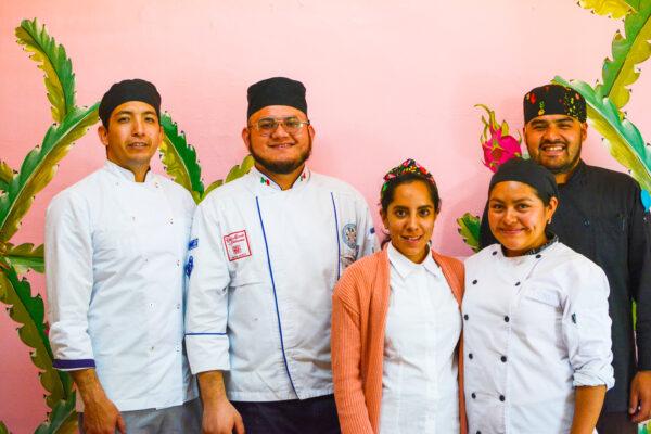 chefs pitahaya vegana